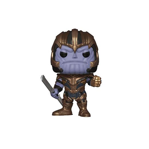 Funko- Pop Bobble: Avengers Endgame: Thanos Collectible Figure,