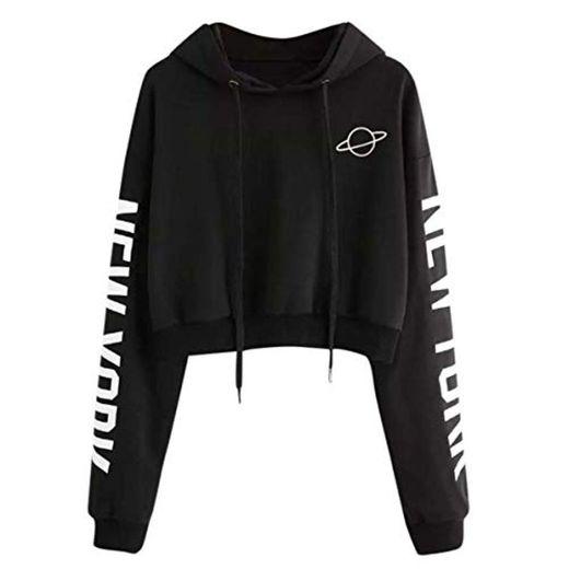 Sweatshirts Women Long Sleeve Hoodie Pullovers Basic Hoodies Burgundy Tops Moletom Feminino Winter Sweatshirt YS45 Black L
