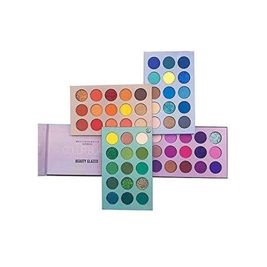 Beauty Glazed 60 Color Nuevo maquillaje Paleta de sombras de ojos 4