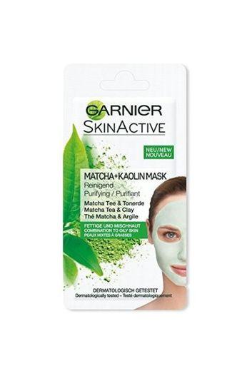 Mascarilla Facial Purificante Té Matcha y Arcilla, de Garnier SkinActive