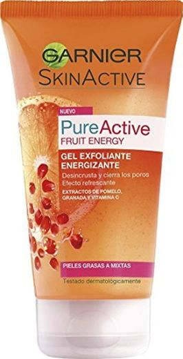 Garnier Pure Active Fruit Energy Gel Exfoliante Energizante