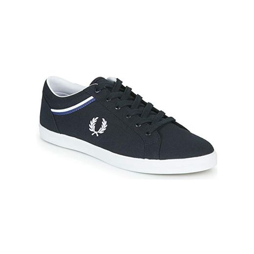 FRED PERRY Baseline Canvas Zapatillas Moda Hommes Azul