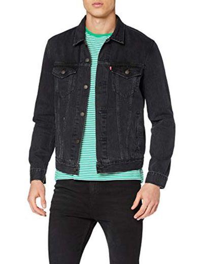 Levi's The Jacket' Chaqueta Vaquera, Negro
