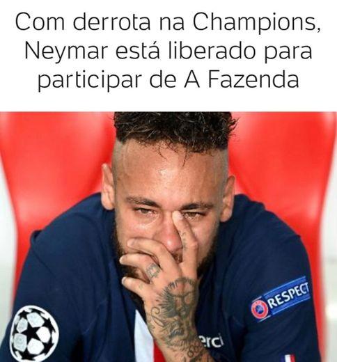 Com derrota na Champions, Neymar está liberado para particip