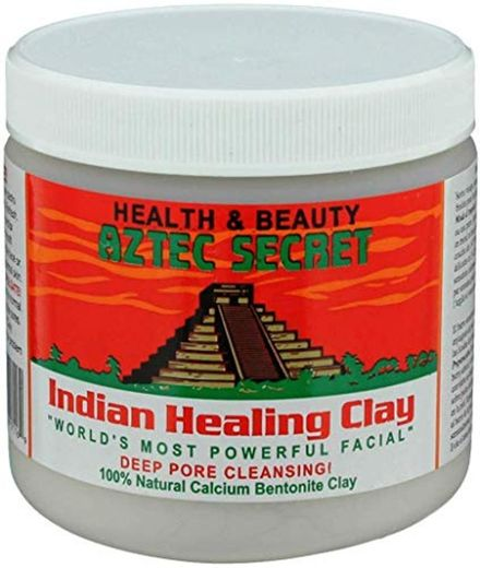 Aztec Secret Indian Healing Arcilla de limpieza profunda 100% natural
