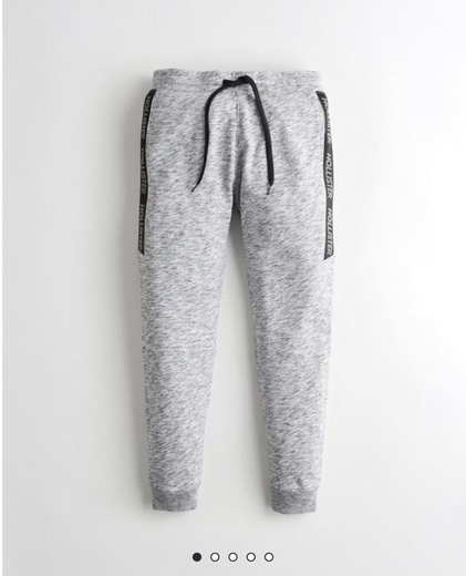 Skinny Terry Jogger Pants