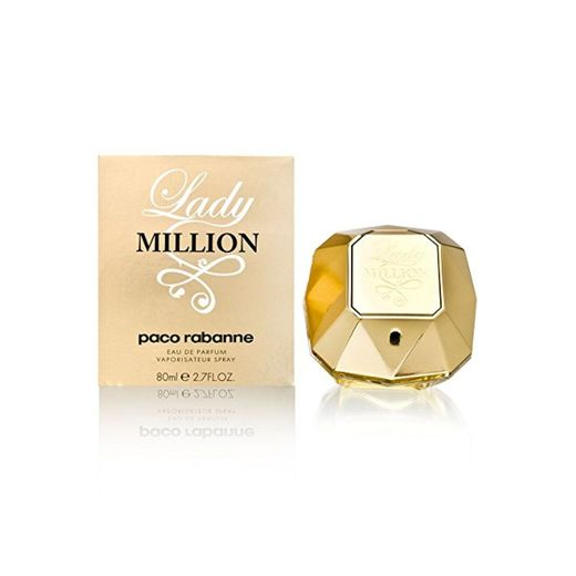 PACO RABANNE LADY MILLION agua de perfume vaporizador 80 ml