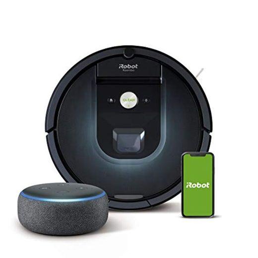iRobot Roomba 981 - Robot Aspirador, WiFi, Aspiración de Alta Potencia, Dirt
