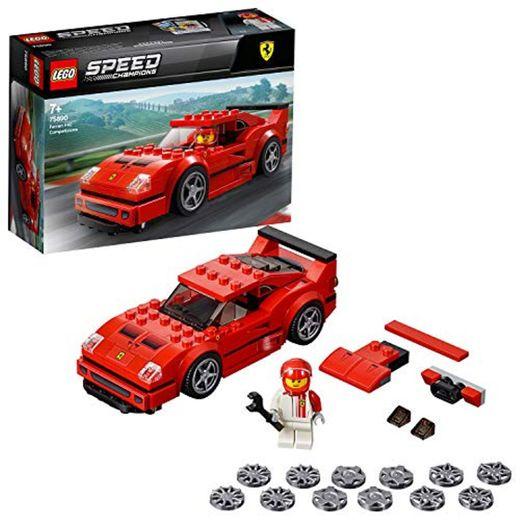 LEGO Speed Champions - Ferrari F40 Competizione, juguete de construcción coche deportivo