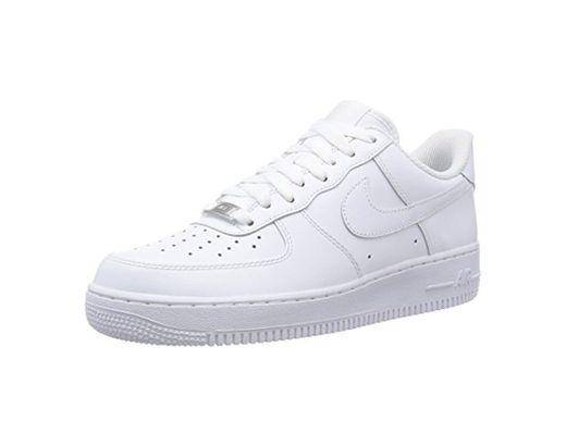 Nike Air Force 1 '07, Zapatillas de Deporte para Hombre, Blanco