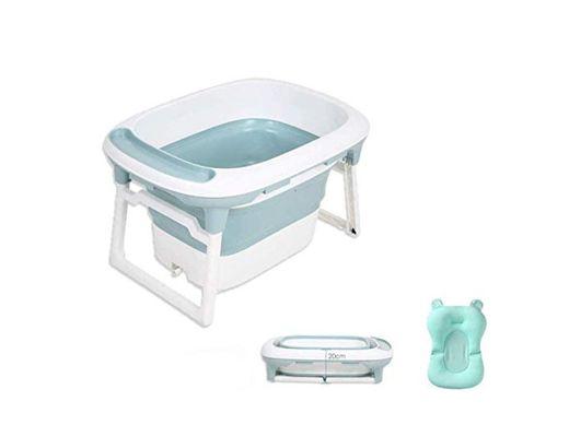 Babify Bañera Bebé Plegable con Cojín Reductor Aqua Plus - De 0