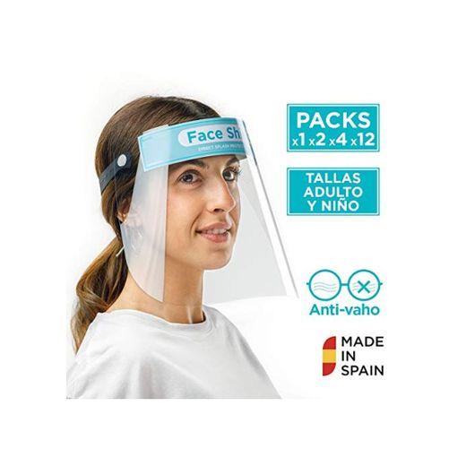 Pantalla Protección Facial Sonaprotec - Protector Facial Antivaho