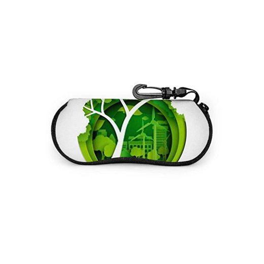 Eco Nature Concept Treeseedling Green City - Funda para gafas de sol