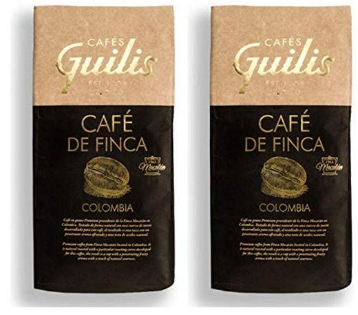 CAFES GUILIS DESDE 1928 AMANTES DEL CAFE Café Colombiano en Grano Arábica