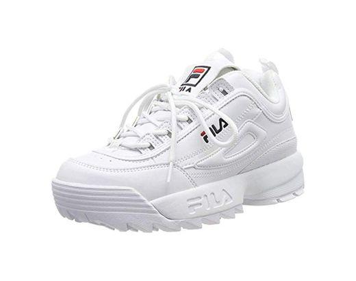 Fila Disruptor Low W Calzado White