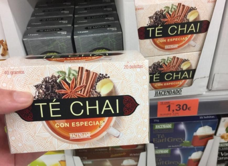 Té Chai Mercadona