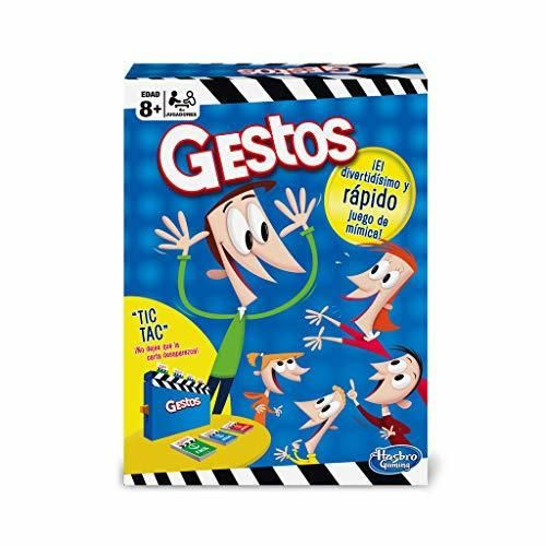 Hasbro Gaming - Gestos, Juegos de Mesa versión española,