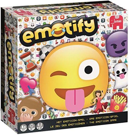 Jumbo Emotify Adultos Juegos de Preguntas - Juego de Tablero