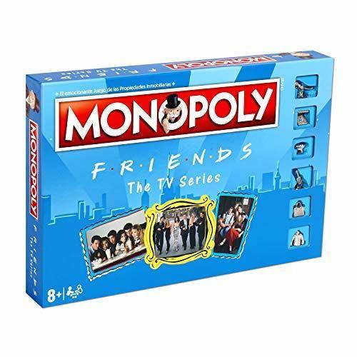 ELEVEN FORCE Monopoly Friends, multicolor, Talla Única