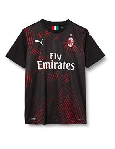 Puma AC Milan Kinder Replica Camiseta de Manga Corta