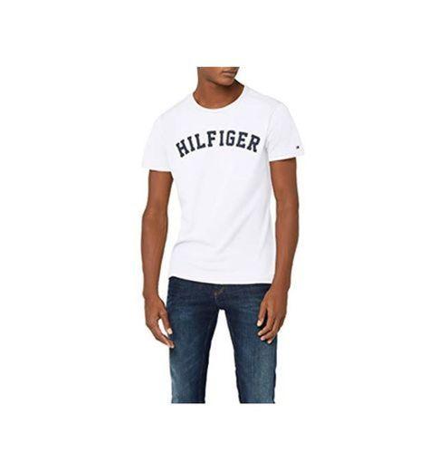 Tommy Hilfiger UM0UM00054, Camiseta Para Hombre, Blanco