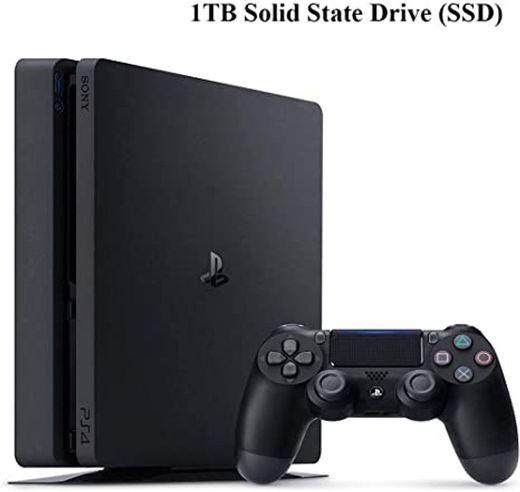 Consola Sony Playstation 4 Slim 1 TB - Negro + Controlador ...