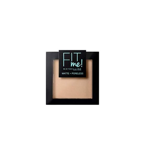 Maybelline New York Fit Me - Polvos Compactos Matificantes y Sin Brillos