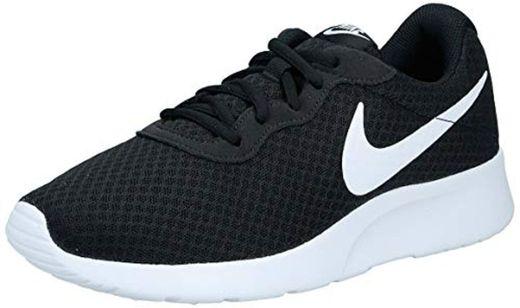 Nike Tanjun, Zapatillas de Running para Mujer, Negro