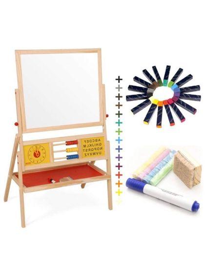 Lousa infantil giz e canetão