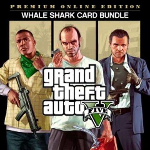 GTAV, Starter Pack and Whale Shark Card Bundle