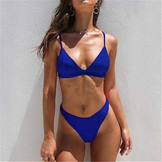 UNIVIEW Sólido atractivo Conjunto de bikini