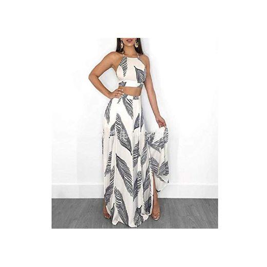 2020 Nuevo diseño de Moda Vestido de Mujer Conjunto 2 Piezas Top