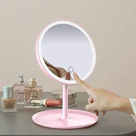 Modenny Maquillaje conducido Espejo con luz LED Espejo de baño espelho de