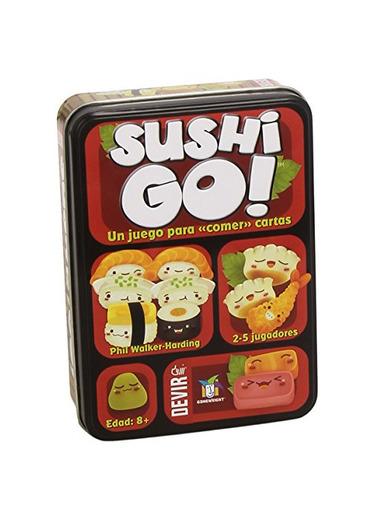 Devir- Sushi Go Juego de Mesa, Multicolor, Miscelanea