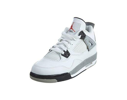 Nike Air Jordan 4 Retro OG BG, Zapatillas de Deporte para Niños,