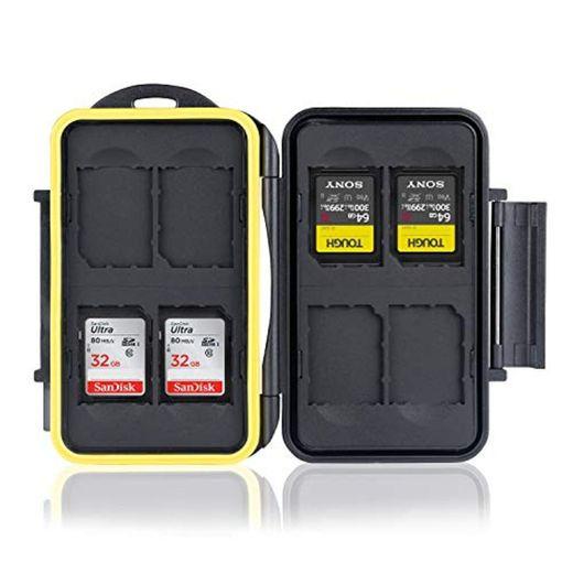 Ares Foto® Caja de protección para tarjetas de memoria