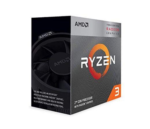AMD Ryzen 3 3200G, Procesador con Disipador de Calor Wraith Stealth