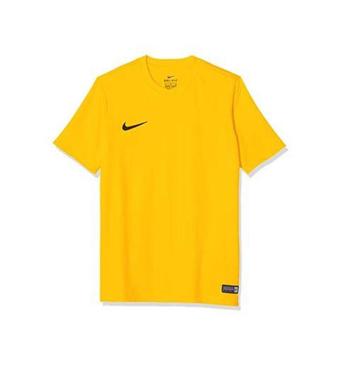 Nike SS YTH Park Vi JSY Short Sleeve Top, Niños, Amarillo