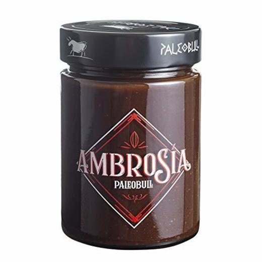 Crema de Cacao y Avellanas Saludable Ambrosía - Sin Azúcar Añadido