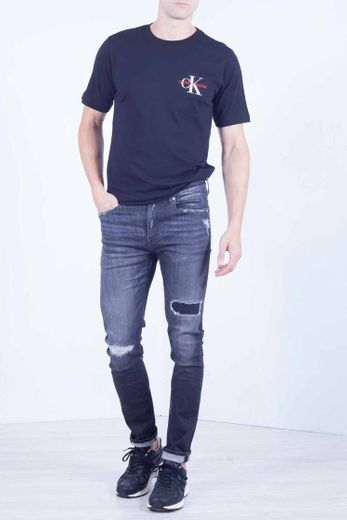 Calvin Klein Ckj 058 Slim Taper Jeans, Ca096 Grey, W36