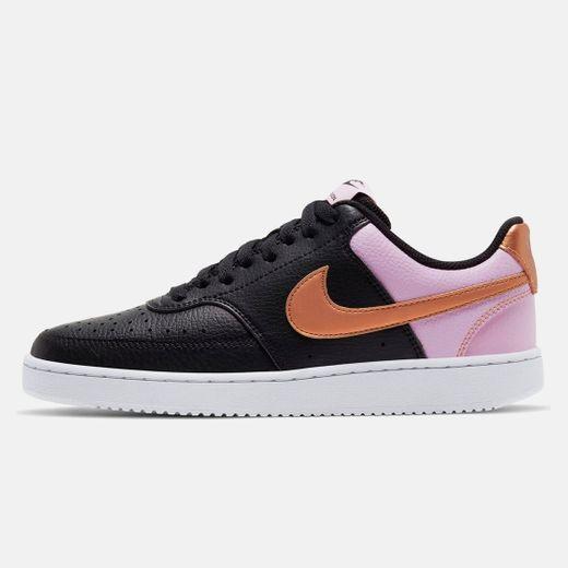 Nike Wmns Court Vision Low, Zapatillas de Baloncesto Mujer, Multicolor