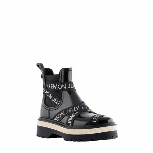 Elara Botines de Mujer Chelsea Boots Chunkyrayan HQ115 Black-38