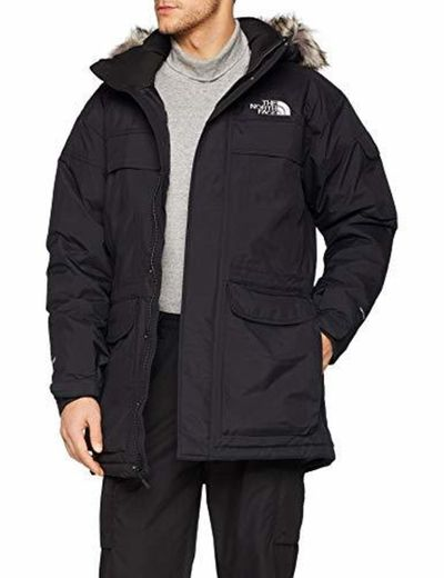 The North Face McMurdo - Chaqueta Impermeable, Hombre, Negro
