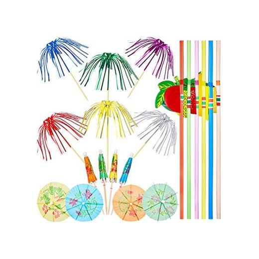 WILLBOND 200 Decoraciones de Fiesta de Cóctel