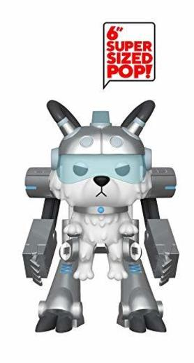 Funko- Pop Figura de Vinilo: Animación: Rick & Morty S6-Snowball in Mech