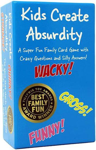 Kids create absurdity (play card)