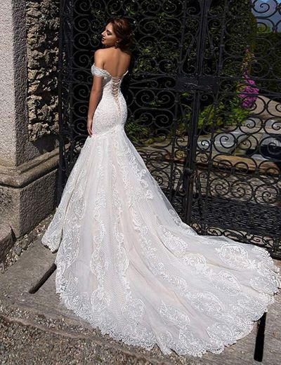 Fenghauvip Mermaid Wedding Dress Off The ... - Amazon.com