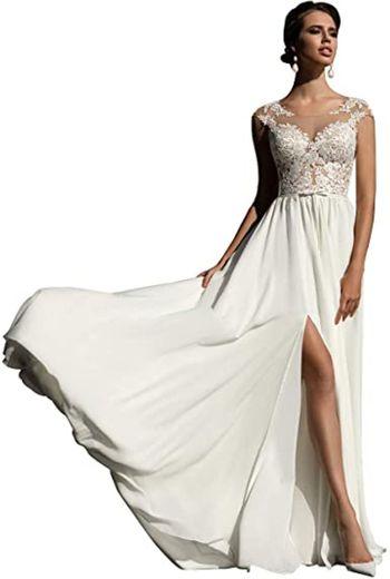 WaterDress Beach Wedding Dresses for Bride 2021 Long Sleeve ...