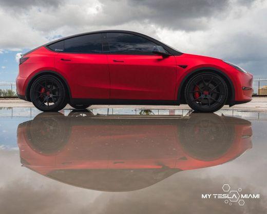 Model Y Car Wrap - My Tesla Miami
