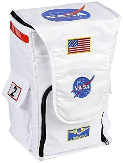 Aeromax Astronaut Backpack White patches